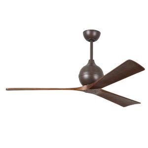 Irene  60-Inch Ceiling Fan with Three Walnut Tone Blades