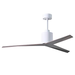 Eliza Gloss White 56-Inch Adjustable Ceiling Fan
