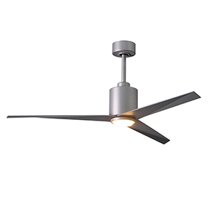 Eliza-LK Brushed Nickel 56-Inch LED Ceiling Fan with Brushed Nickel Blades