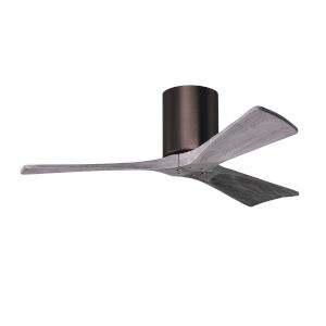 Irene-3H Brushed Bronze and Barnwood 42-Inch Outdoor Ceiling Fan