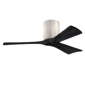 Irene-3H Barnwood and Matte Black 42-Inch Outdoor Ceiling Fan