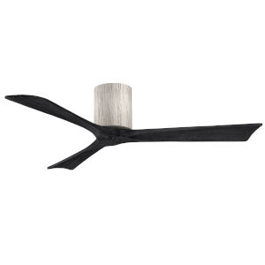 Irene-3H Barnwood and Matte Black 52-Inch Outdoor Ceiling Fan