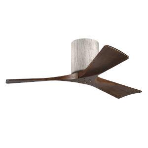 Irene-3H Barnwood and Walnut 42-Inch Outdoor Ceiling Fan