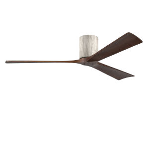 Irene-3H Barnwood and Walnut 60-Inch Outdoor Ceiling Fan