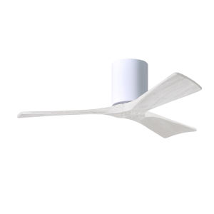 Irene-3H Gloss White 42-Inch Outdoor Ceiling Fan
