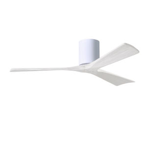 Irene-3H Gloss White 52-Inch Outdoor Ceiling Fan