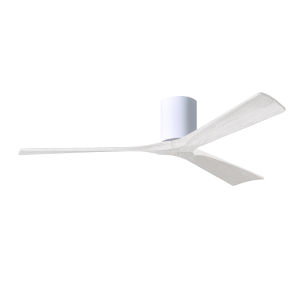 Irene-3H Gloss White 60-Inch Outdoor Ceiling Fan