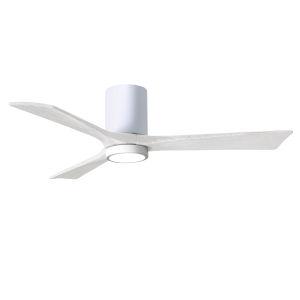 Irene-3HLK Gloss White 52-Inch Ceiling Fan with LED Light Kit