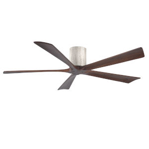 Irene-5H Barnwood and Walnut 60-Inch Outdoor Ceiling Fan