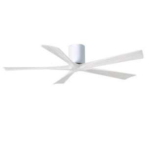 Irene-5H Gloss White 60-Inch Outdoor Ceiling Fan