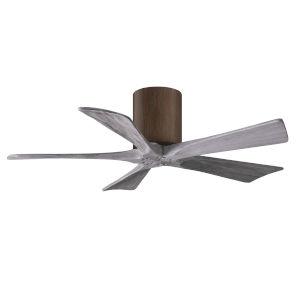 Irene-5H Walnut and Barnwood 42-Inch Outdoor Ceiling Fan