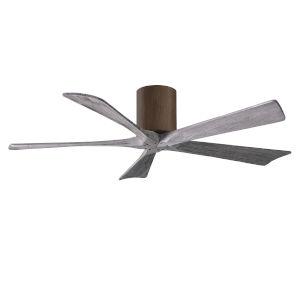 Irene-5H Walnut and Barnwood 52-Inch Outdoor Ceiling Fan