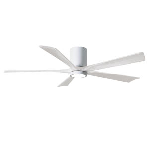 Irene-5HLK Gloss White 60-Inch Ceiling Fan with LED Light Kit