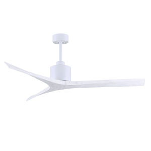 Mollywood Matte White 60-Inch Outdoor Ceiling Fan