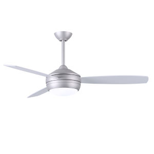 T-24 Brushed Nickel 52-Inch LED Ceiling Fan with Brushed Nickel Blades