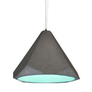 Portland Aqua 15-Inch One-Light Pendant with 100W