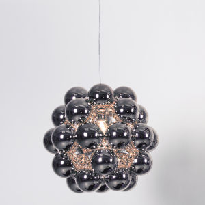 Gunmetal 21-Inch One-Light Pendant with 100W