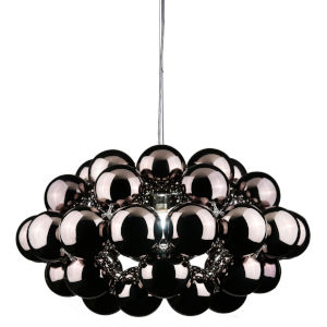 Gunmetal 30-Inch One-Light Pendant with 100W