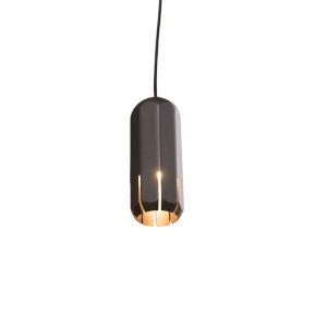 Brixton Graphite LED One-Light Mini-Pendant with 2700K