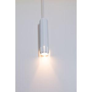 Brixton White 2-Inch LED One-Light Mini-Pendant