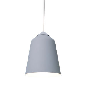 Circus Grey 6-Inch One-Light Mini-Pendant with 60W
