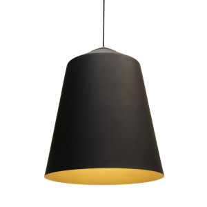 Circus Black 14-Inch One-Light Pendant with 100W