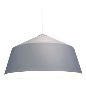 Circus Grey 22-Inch One-Light Pendant with 100W