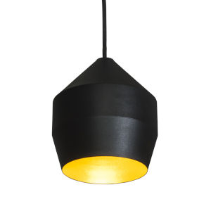 Hoxton Black and Gold One-Light Mini Pendant