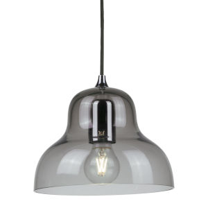 Jelly Gray Nine-Inch One-Light Mini-Pendant