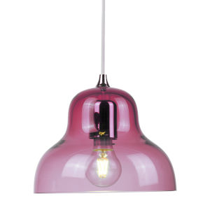 Jelly Red Nine-Inch One-Light Mini Pendant