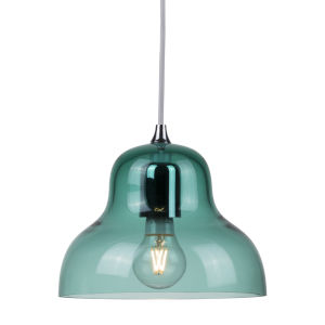 Jelly Blue Nine-Inch One-Light Mini Pendant