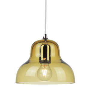 Jelly Yellow Nine-Inch One-Light Mini Pendant