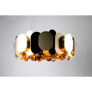 Bronze 12-Light Chandelier