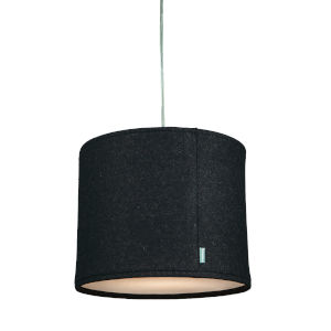 Kobe Charcoal LED One-Light Pendant with 3000K