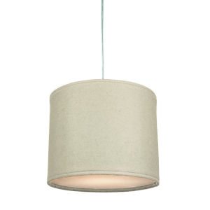 Kobe Natural LED One-Light Pendant with 3000K