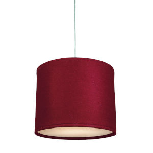 Kobe Red LED One-Light Pendant with 3000K