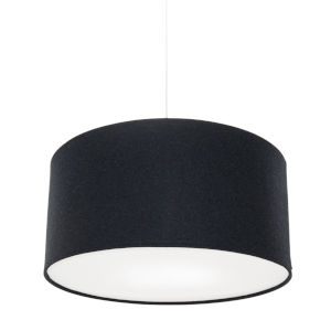 Kobe Charcoal LED One-Light Pendant with 12W