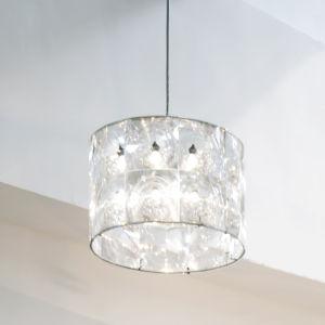 Lighthouse Transparent LED One-Light Pendant with 3000K