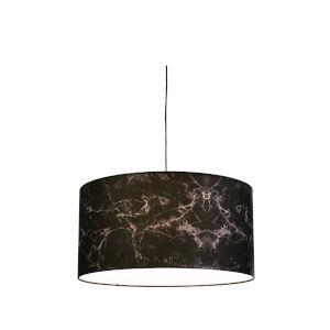 Black Marble LED One-Light Pendant