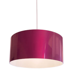 Pink LED One-Light Pendant
