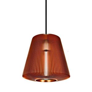 Bramah Copper One-Light Pendant