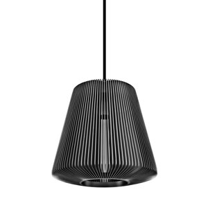 Bramah Gray One-Light Pendant