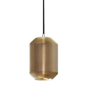 Joseph Pale Gold 4-Inch One-Light Mini Pendant