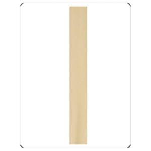 Bianca, Jarold Downrods Brushed Brass 5-Inch Down Rod
