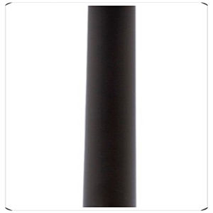 Atlas Matte Black 30-Inch Down Rod