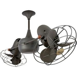 Duplo Dinamico Bronze 39-Inch Ceiling Fan