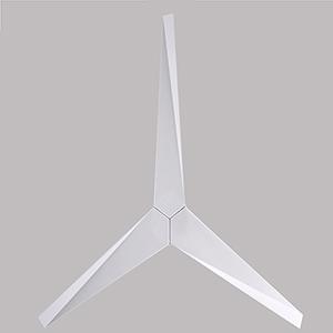 Eliza Gloss White 56-Inch Outdoor Ceiling Fan