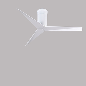 Eliza Gloss White 56-Inch Outdoor Ceiling Fan