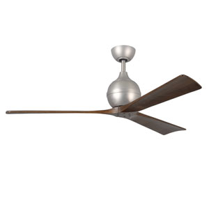 Irene Three Blade Brushed Nickel 60-Inch Ceiling Fan
