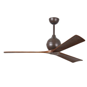 Irene Three Blade Textured Bronze 60-Inch Ceiling Fan